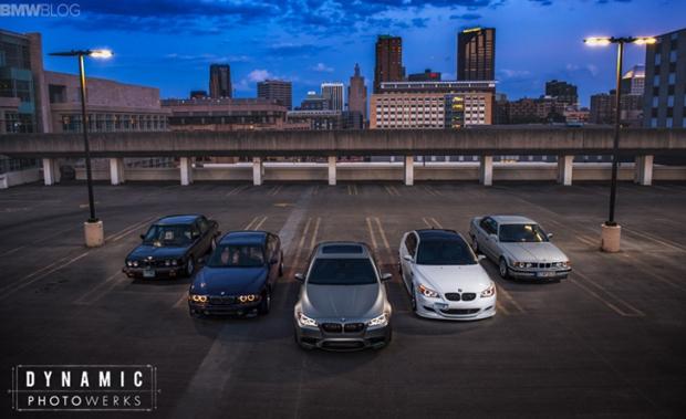 BMW-M5-Generations